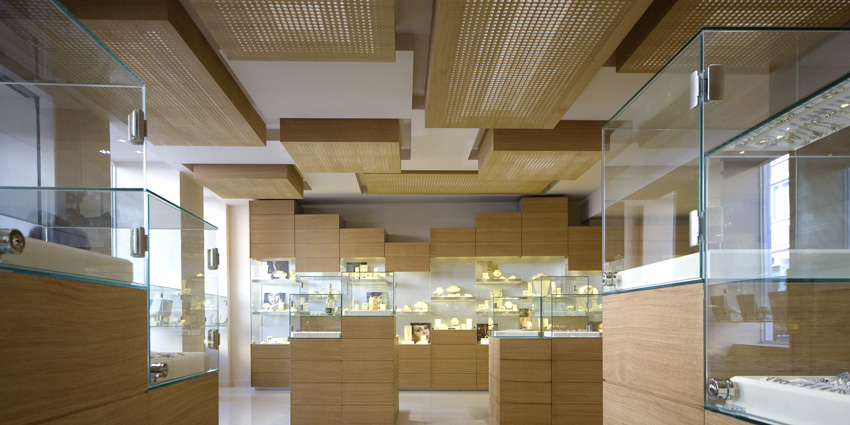 the project involves the development of new concept stores for the ...