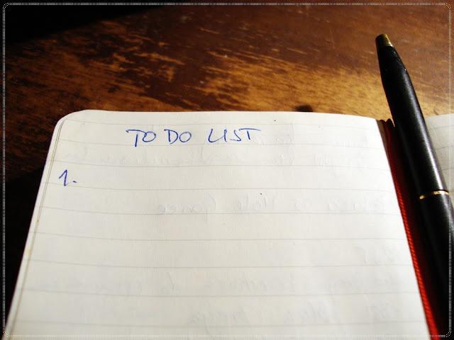 lista stvari za napravit