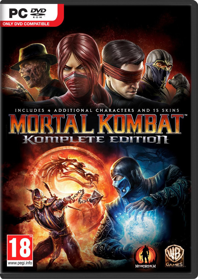 Download - Jogo Mortal Kombat Komplete Edition-FLT + BLACK BOX PC (2013)