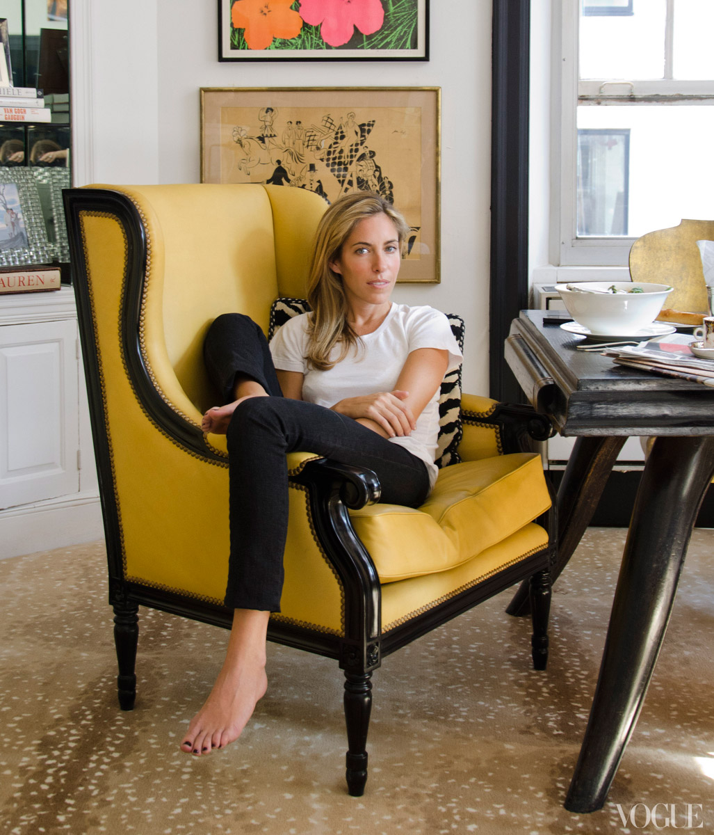 Breakfast With Kate Moss Antelope Rugs