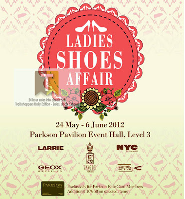 Parkson Ladies Shoes Affair Sale