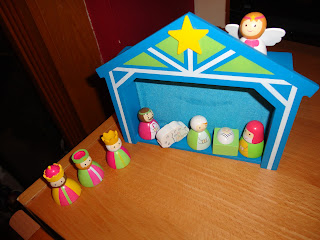 Big Boy's Nativity from Tesco