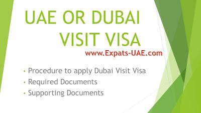 UAE Dubai Visit Visa