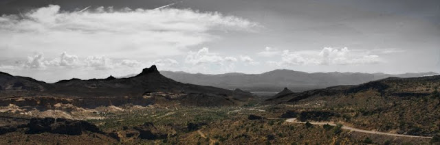 Route 66 Landscape Panoramic