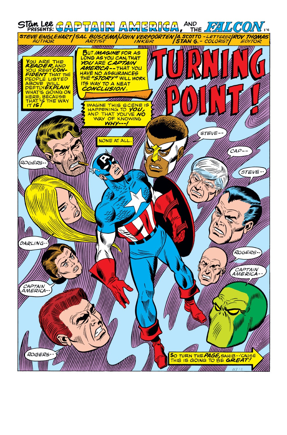 Captain America (1968) Issue #159 #73 - English 2