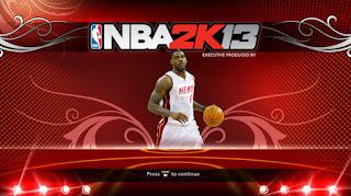 NBA 2K13 LeBron James Startup Screen Mod
