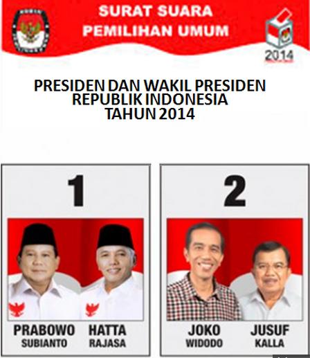 Hasil Hitung Cepat Pilpres 9 Juli 2014