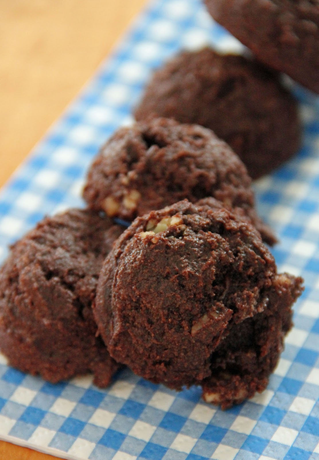 Jo and Sue: Coconut Flour Double Chocolate Cookies