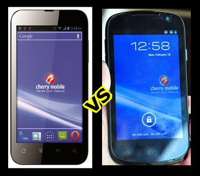 Cherry Mobile Flare vs Cherry Mobile Burst at Php 3,999 Only
