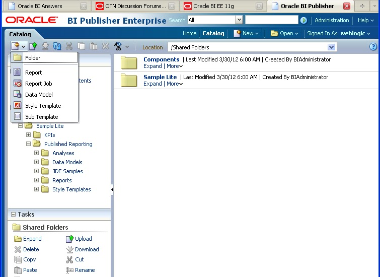 Oracle Business Intelligence: Working with BI Publisher 11g - Part2 ...
