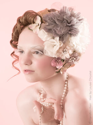 Vintage hairdressing, retro, hairstyles, competitions, hair up, updo,