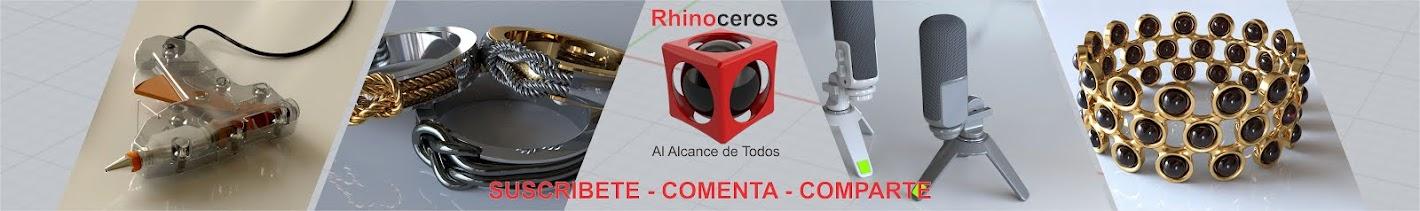 Tutorial español rhino 3d rhinoceros rhino 5 full