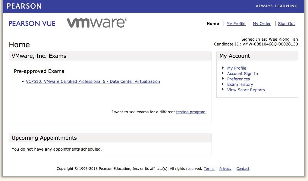 Plain Virtualization Vmware Certification Exam System Revamped