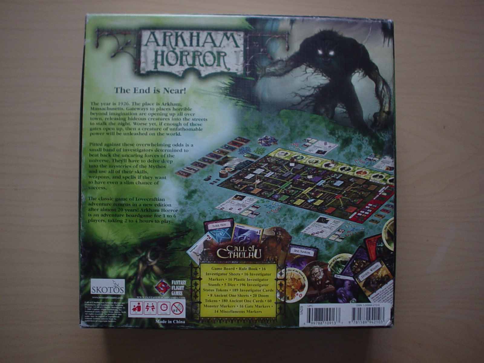 how to play arkham horror