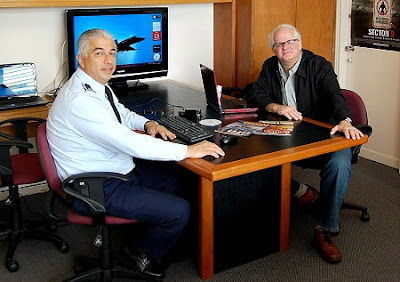 A. J. Gevaerd & Colonel Ariel Sanchez