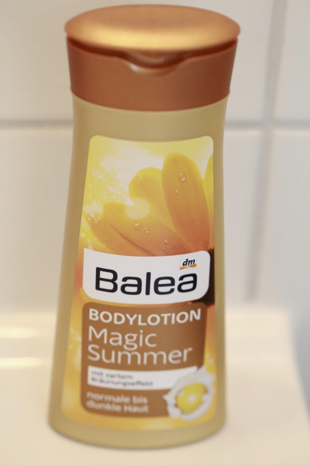 Test: Balea Bodylotion Magic Summer - hält sie ihr