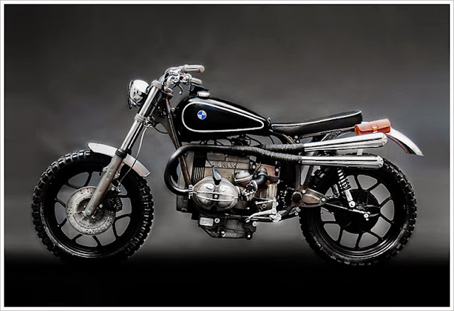 hook motors bmw R65 scrambler