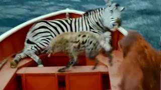 Relax and ease movie life of pi for Life of pi animals