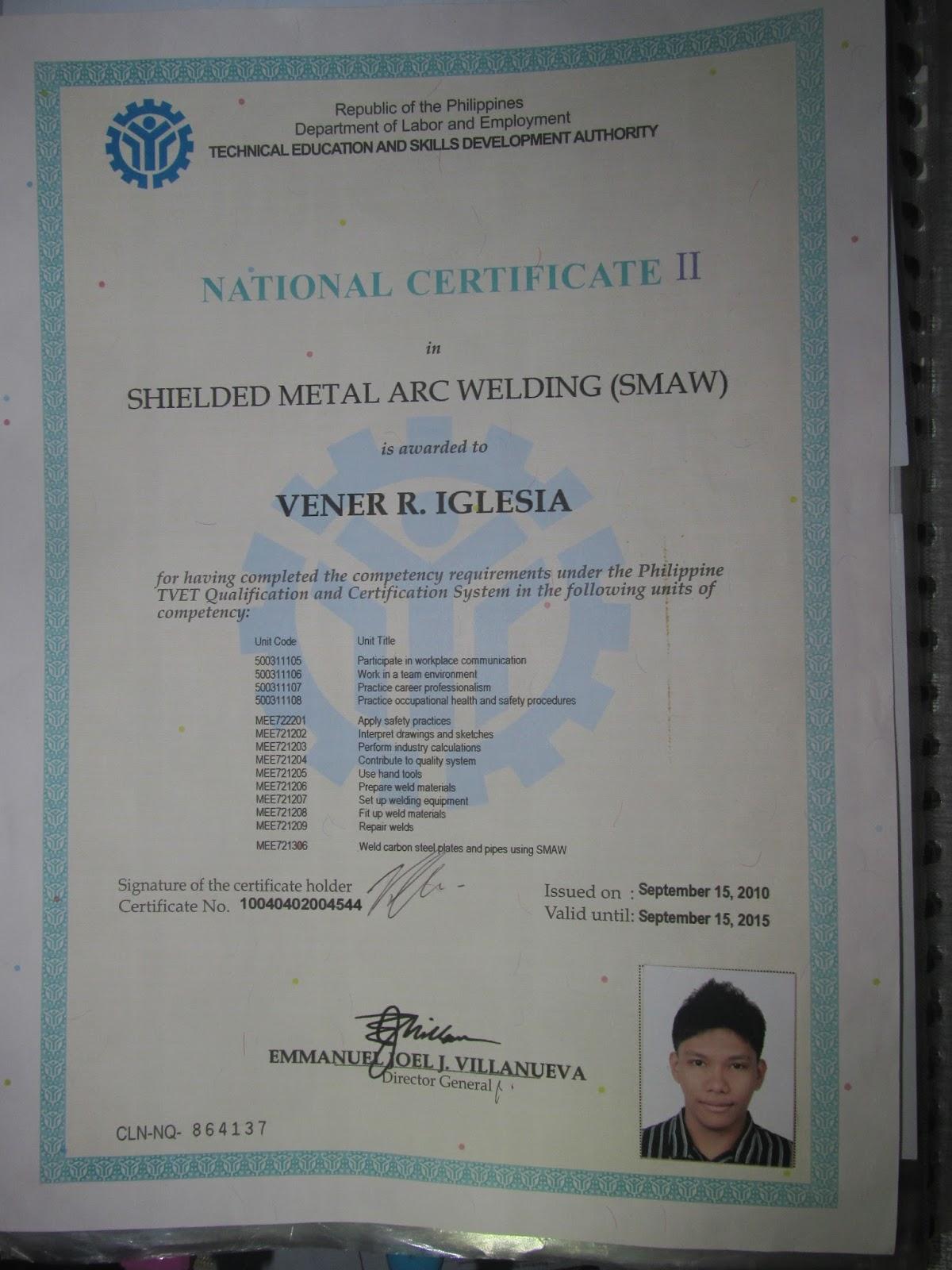 Vener del rosario iglesia ojt certificate of participationseminar yadclub Choice Image