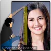 What is Julie Anne San Jose's height?