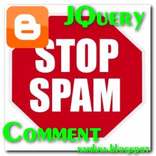 Ẩn liên kết trong commnet blogger với JQuery