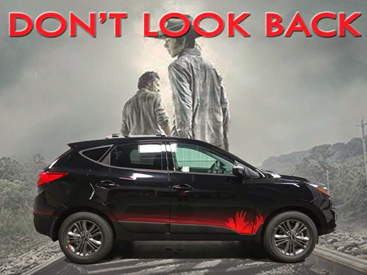 The Walking Dead edition of the Hyundai Tuscon