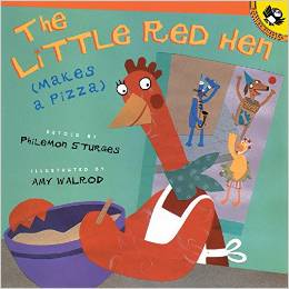 http://www.amazon.com/The-Little-Red-Makes-Pizza/dp/0142301892