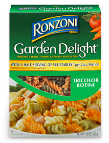 printable Ronzoni Garden Delight coupons
