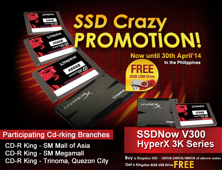 CD-R King SSD Crazy Promotion