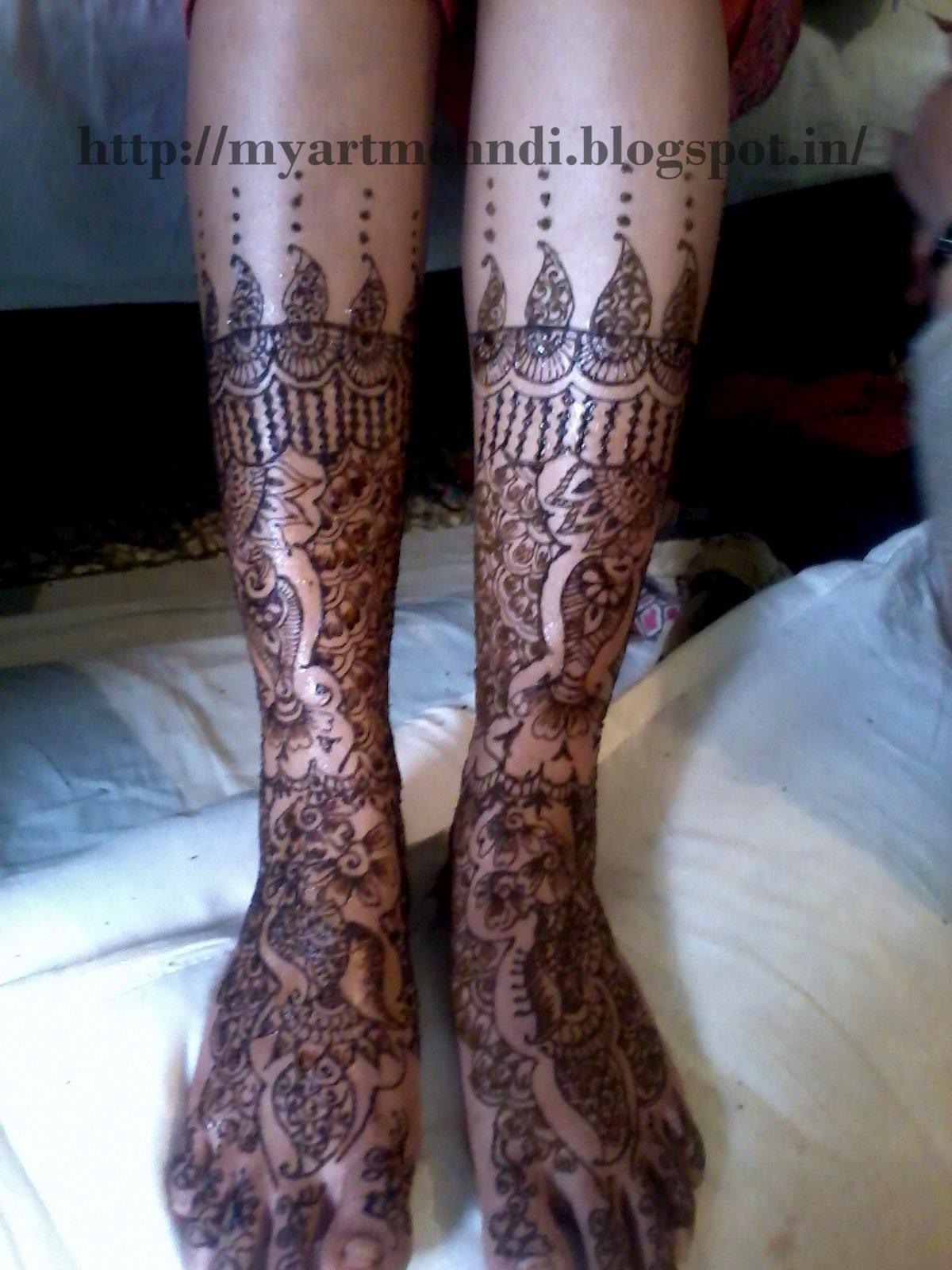 Bridal Mehndi Leg Designs : Mehndidesigns bridal mehndi design for legs