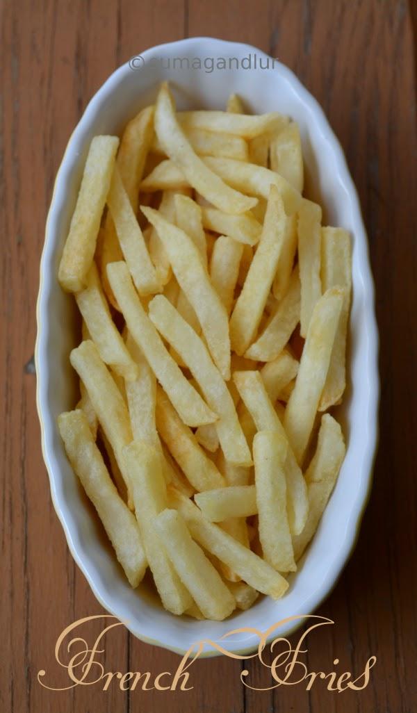 Veggie Wednesday ~ Baked French Fries