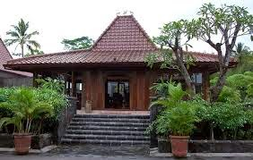 Gambar desain Rumah Adat Joglo Jawa Timur