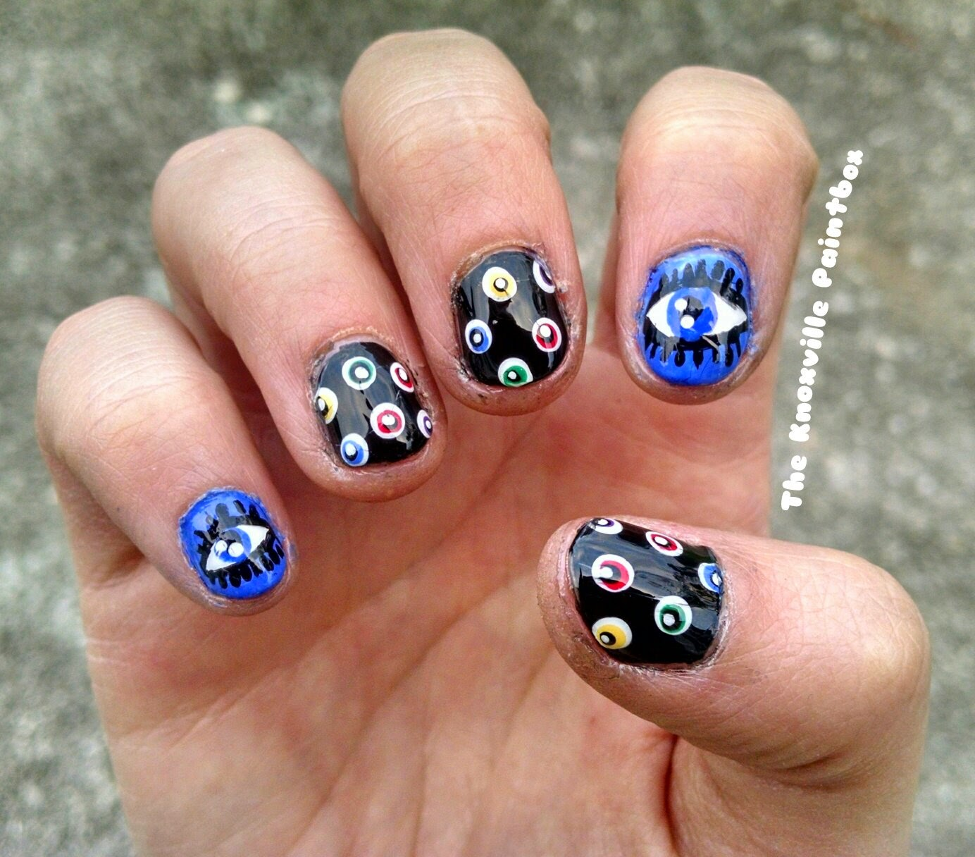 The Knoxville Paintbox: A Beauty Blog: I\'m Back... With an Evil Eye ...