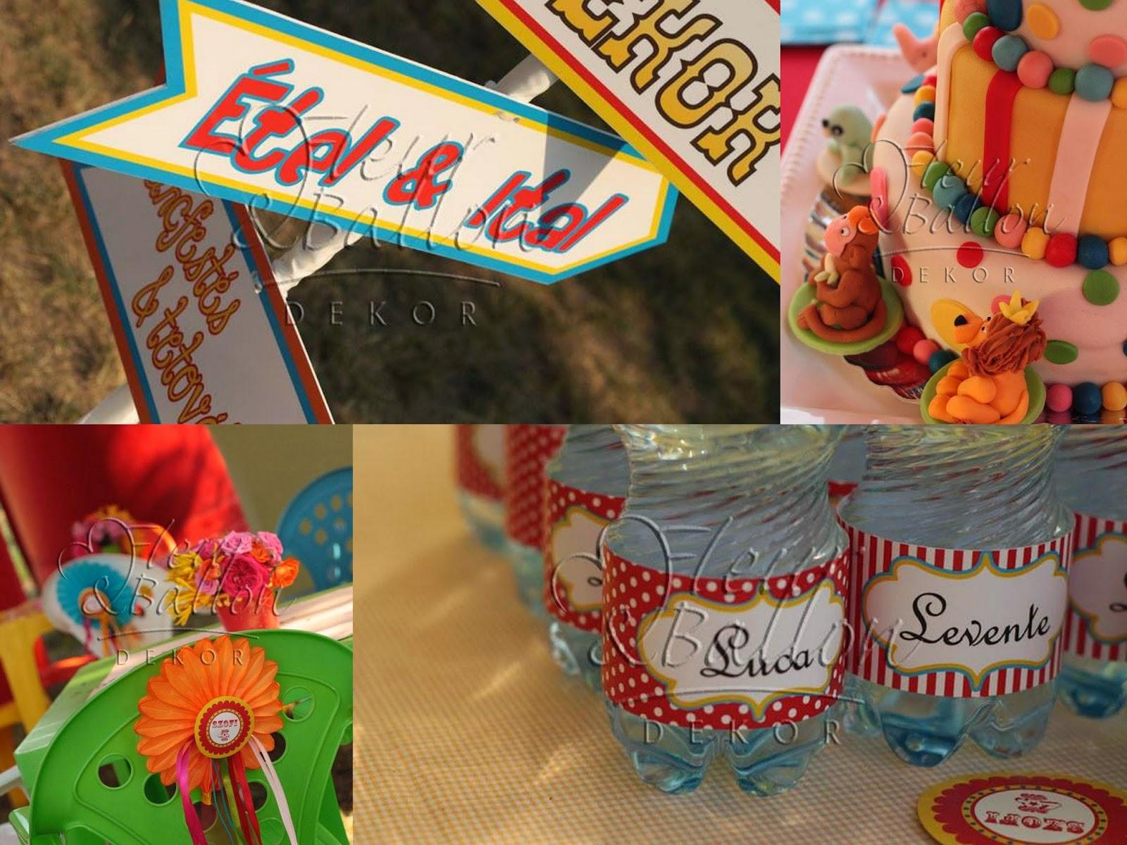 Fleur&ballon dekoráció születésnapra