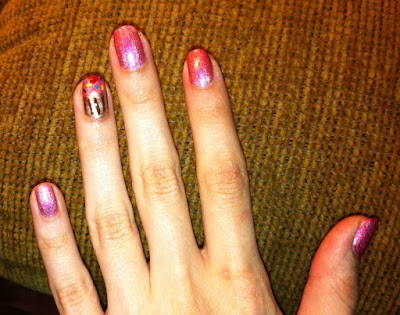 cupcake, nail art, pink