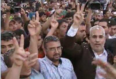 GAZA PALESTINA Rayakan Kemenangan Atas ISRAEL