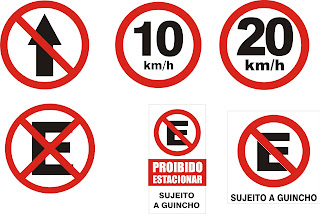Placas De Sinaliza    O Transito