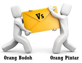 Market Pulsa - Orang Bodoh VS Orang Pintar