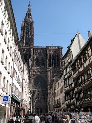 catedrala notre dame de strasbourg