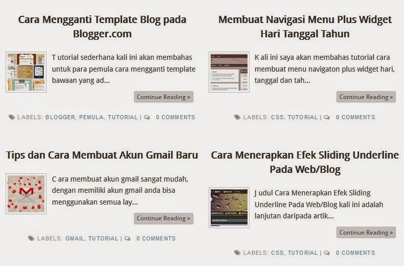 Membuat Posting Auto Readmore Tanpa Java Script