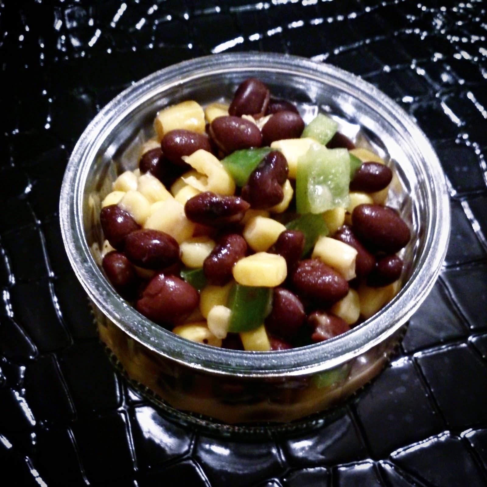 Salade d'haricots noirs et de maïs!