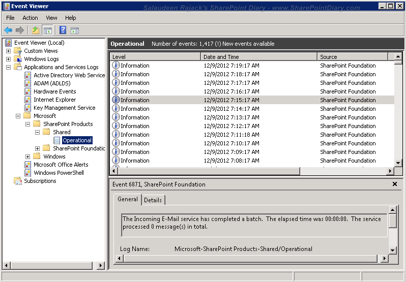 disable diagnostic logging sharepoint 2010