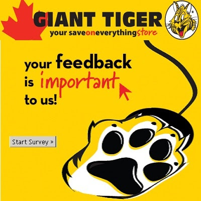 Giant Tiger Survey: Win a $500 Giant Tiger Gift Card