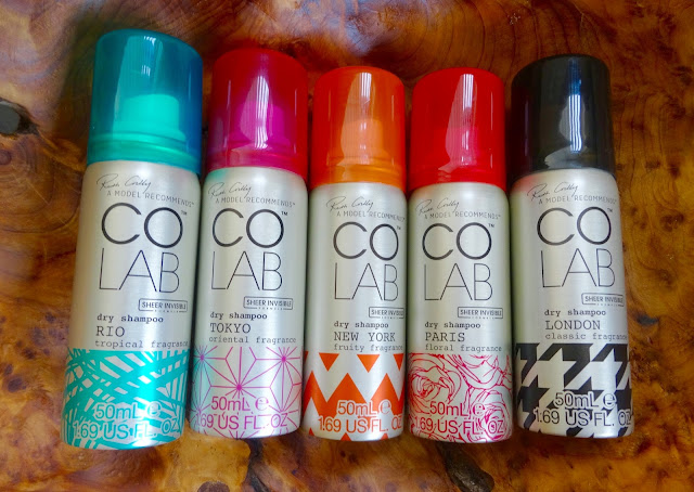 Colab dry shampoo mini travel set