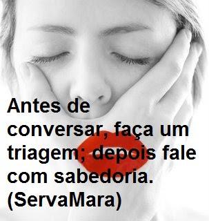 ANTES DE CONVERSAR, FAÇA UMA TRIAGEM