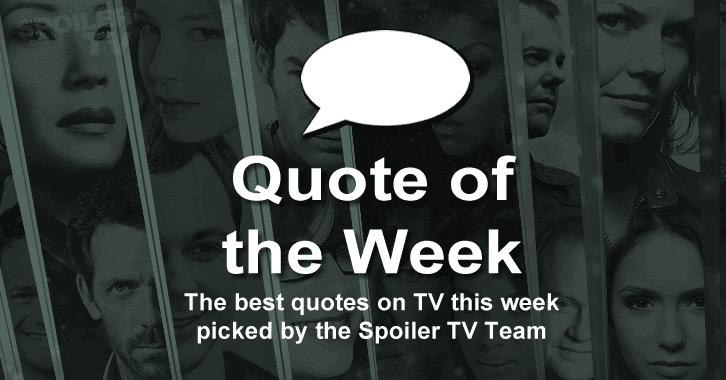 Quote of the Week - Week of May 4