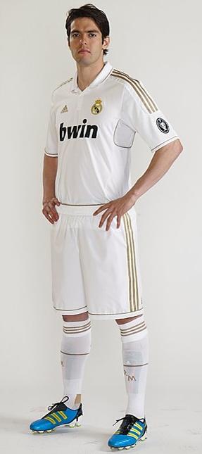 primera equipación Real Madrid 2012