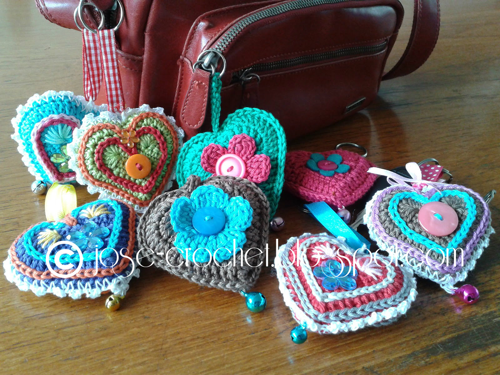 Crochet Pattern Heart : Jose Crochet: Free crochet pattern heart