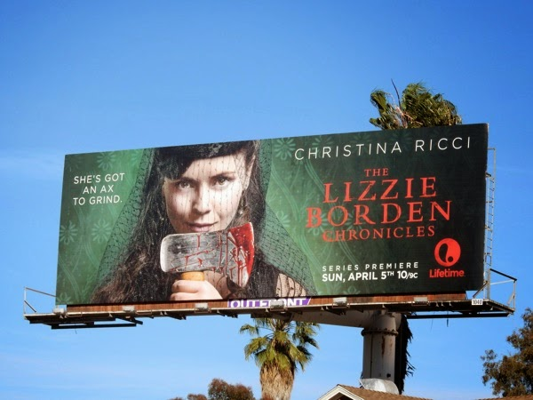 The Lizzie Borden Chronicles series premiere billboard