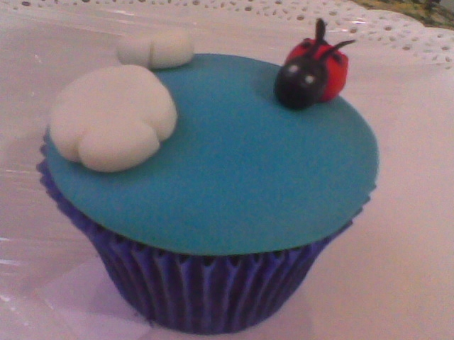 Cupcake joaninha